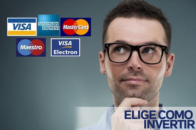 Elige como invertir