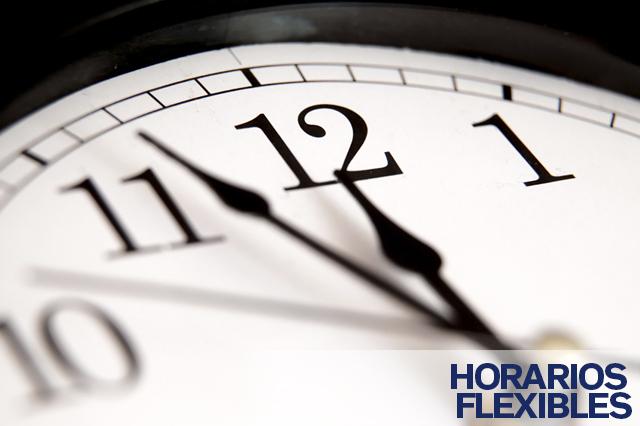 Horarios flexibles